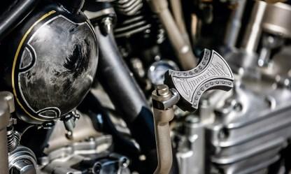 Wegen der Zuverlässigkeit griff man auf einen Motor von S&S zurück