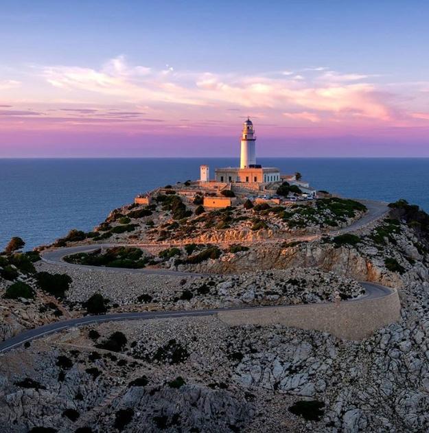 Der Leuchtturm am Cap Formentor, der nördlichste Punkt von Mallorca.