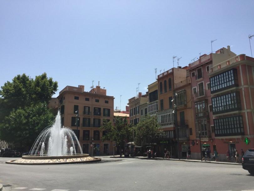 Springbrunnen Palma de Mallorca