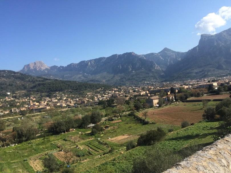 Berge Tramuntana Gebirge Mallorca