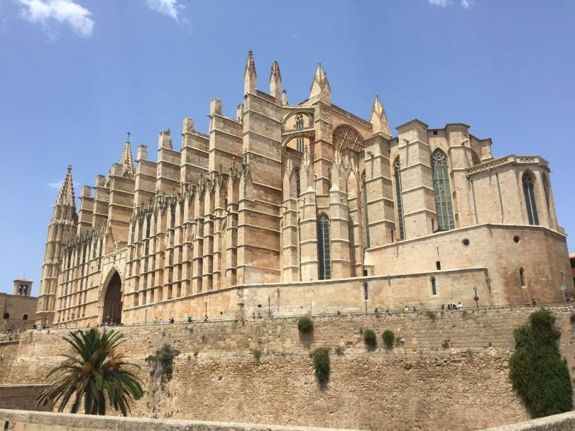"""Palma Kathedrale """"La Seu"""" in Palma de Mallorca"""
