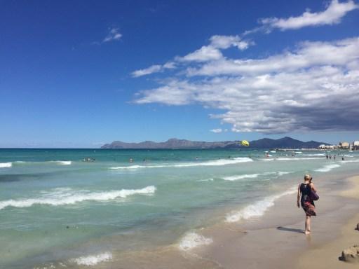 Der Strand von Can Picafort