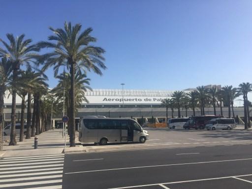 Flughafenparkplatz von Palma de Mallorca