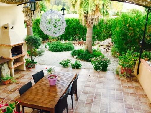 Restaurant Aussenterrasse auf den Balearen.