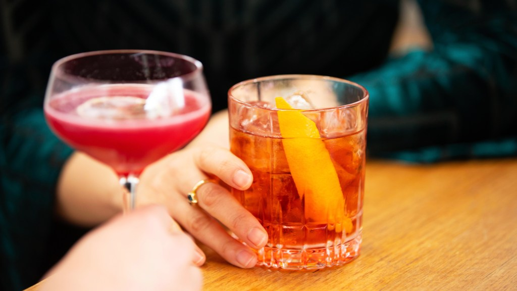 Negroni at Four Pillars Gin in Yarra Valley