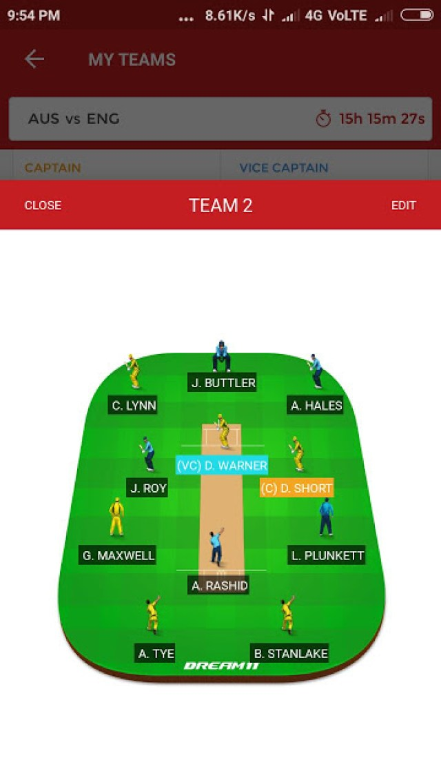 AUS vs NZ, 2nd T20i Match Dream11 Team