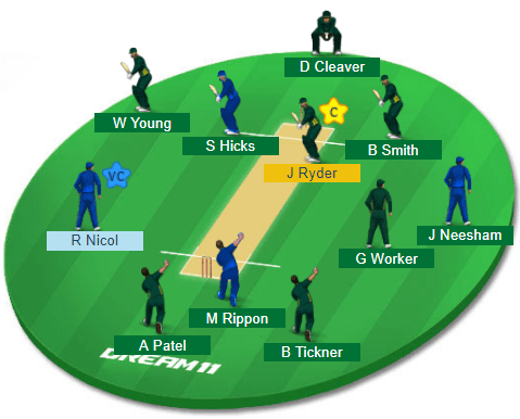 OTG vs CD, 16th Match Dream11 Team