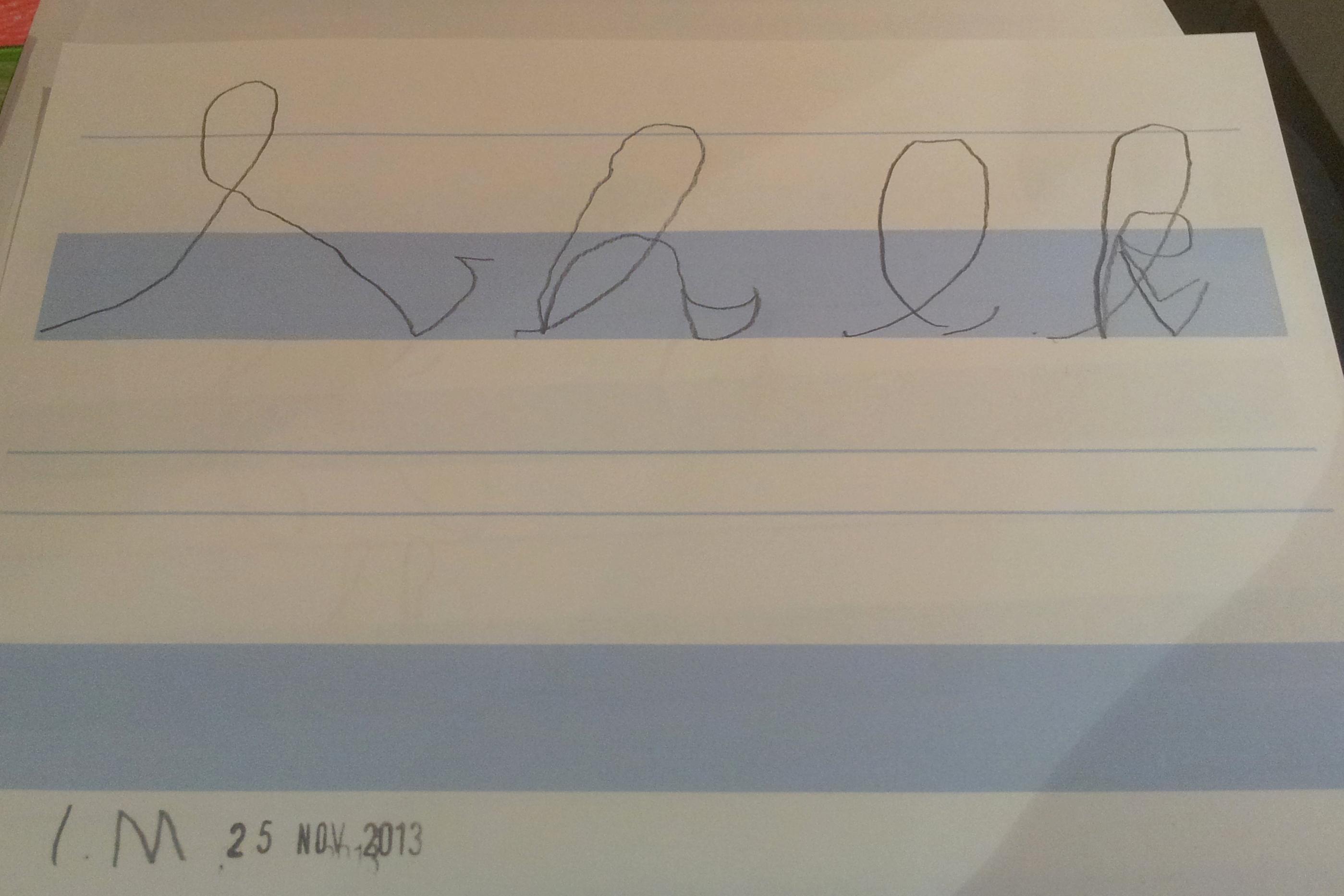 Journey Of Handwriting