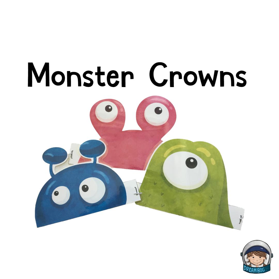 Crown Lesson Plan: Free Alien Crowns That Make Preschoolers Burst Into Play