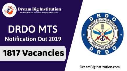 DRDO MTS Recruitment 2019-