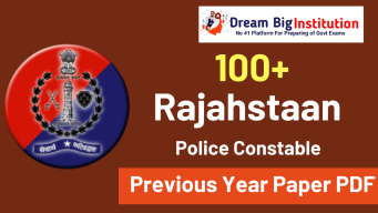 Rajasthan Police Constable Previous Year Papers PDF