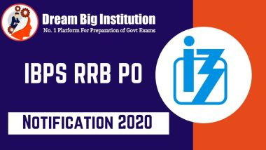 IBPS RRB PO Notification 2020