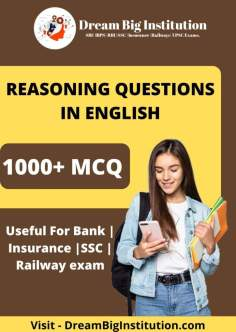 Reasoning Questions PDF in English