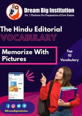 The Hindu Editorial Vocabulary 25 July 2020