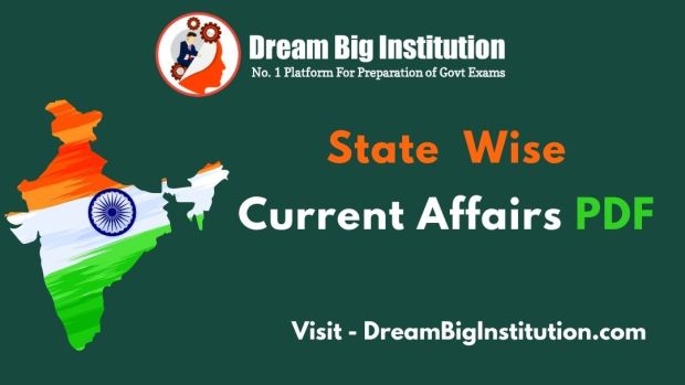 State  Wise  Current Affairs PDF