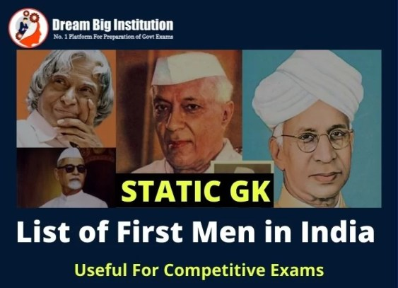 First Men in india