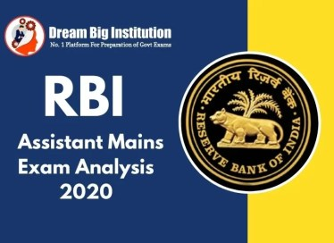 RBI Assistant Mains Exam Analysis 2020