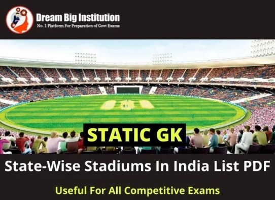 Stadiums In India List
