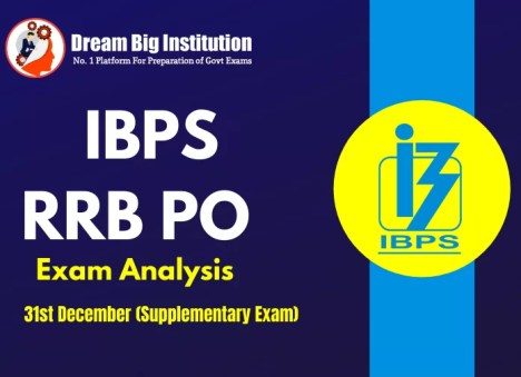 IBPS RRB PO Exam Analysis – 31st December 2020
