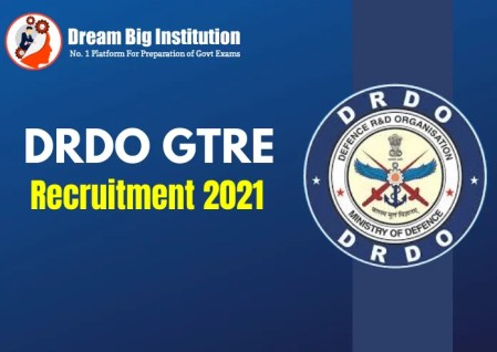 DRDO GTRE Apprentice Recruitment 2021