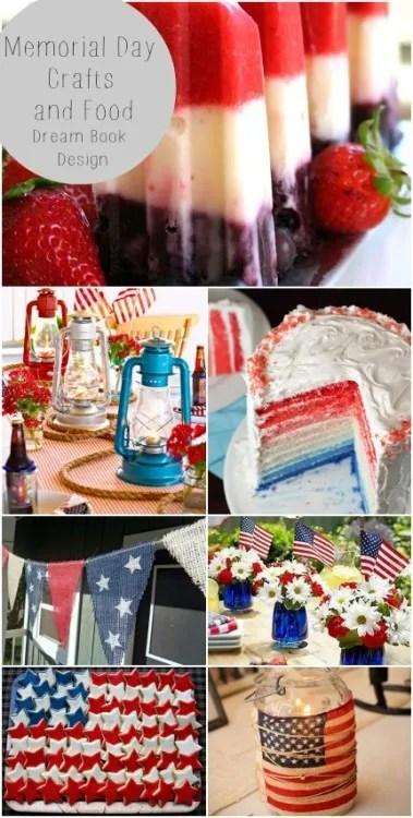 Memorial Day Crafts & Food