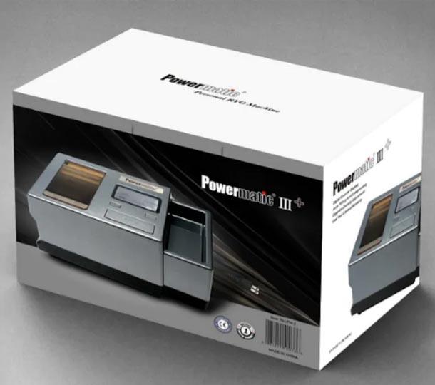 Powermatic 3+ Plus - Powermatic III+ Plus Máquina de Entubar