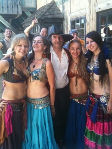 skzb with dancers at the MN Renaissance Festival