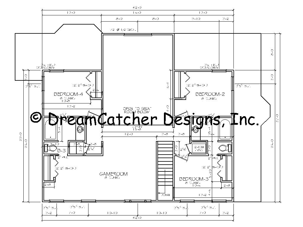House Plans By Dreamcatcher Designs Inc Custom Home