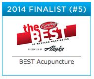 award winning acupuncture Seattle, Redmond, Bellevue