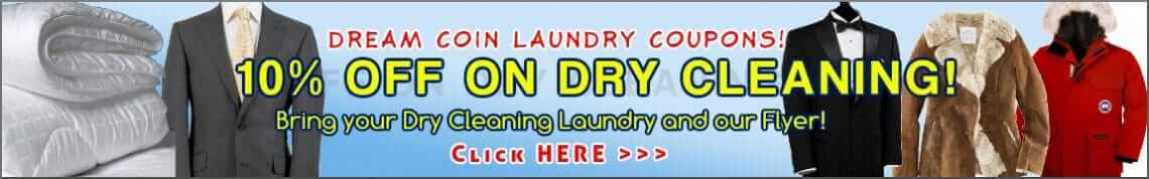 DREAM Coin Laundry Dry Clean Coupons Discount