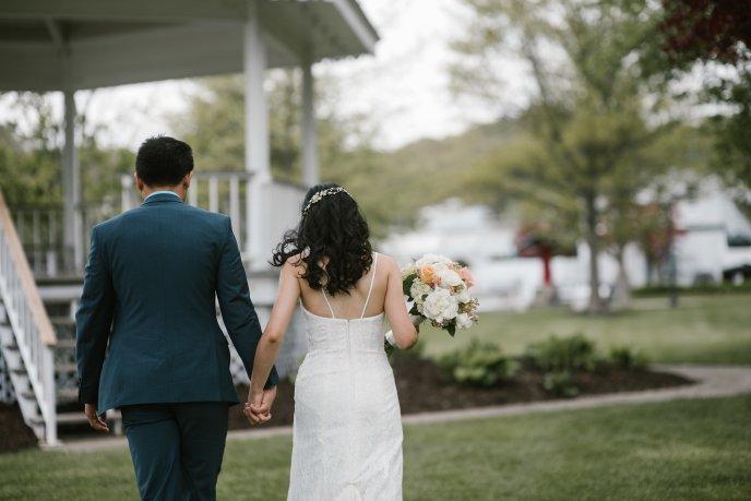 simple wedding in wicks park