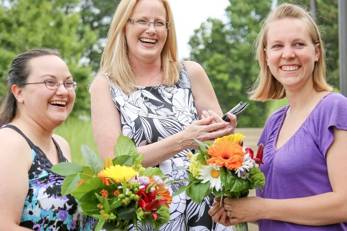 first legal LGBT marriage in Ottawa County performed by Saugatuck Wedding Planner