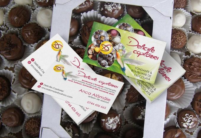 Business cards - artizan dulciuri