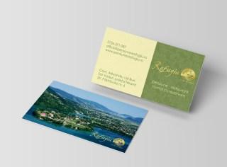 Carti de vizita - deja realizate pe carton special Sirio Ice