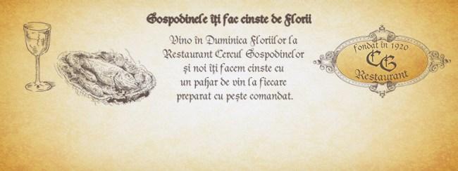 Cover eveniment facebook - Restaurant Cercul Gospodinelor
