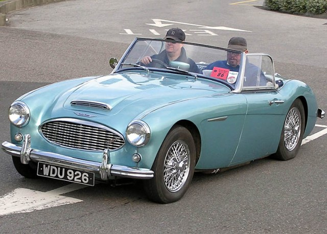 1958 Austin Healey - Fwoar!!  By Arpingstone at en.wikipedia, from Wikimedia Commons