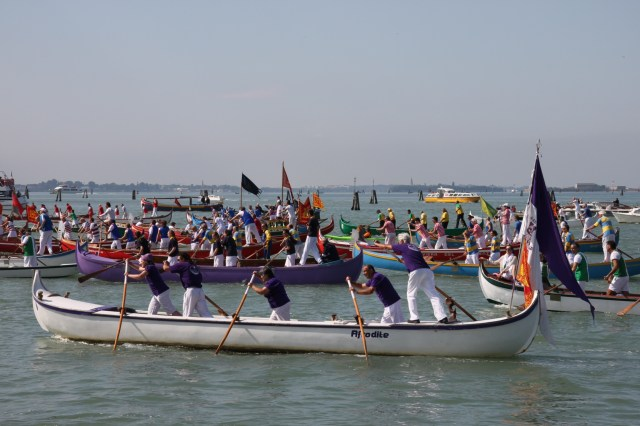 Boats in the parade
