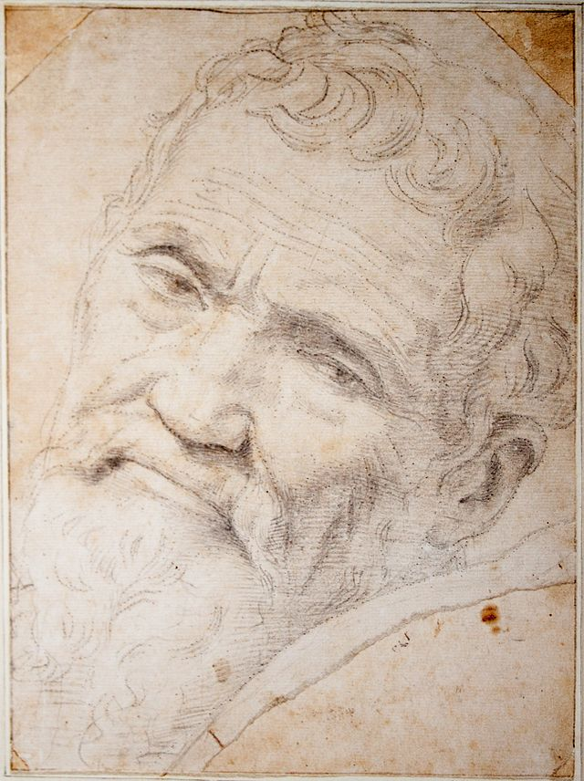Michelango Portrait by Volterra