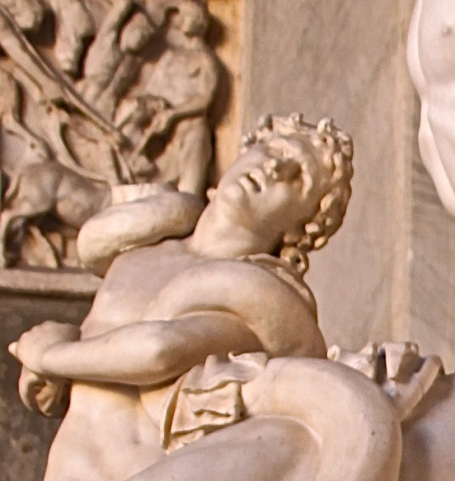 Detail of Laocoön's son