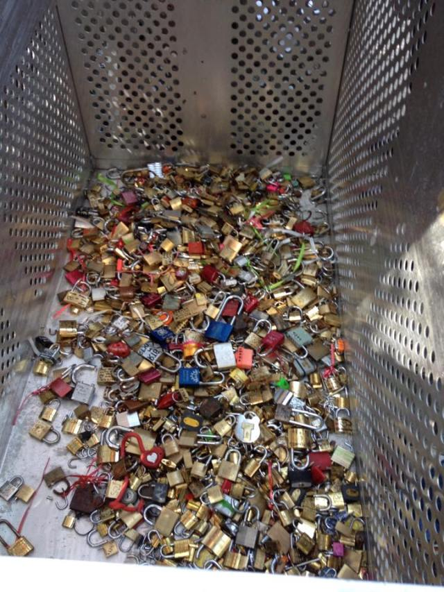 Recycling padlocks into something more useful!