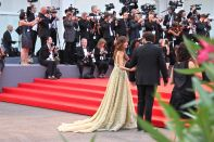 Goya Toledo on the Everest red carpet at venice Film Festival 2015