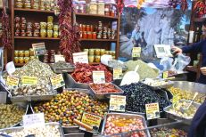 Olives of every type tempt the tastebuds!