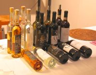 Wine tasting at the San Miniato truffle festival
