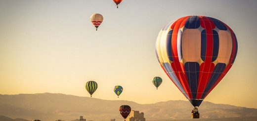 Great Reno Balloon Race 2014 by Trevor Bexon