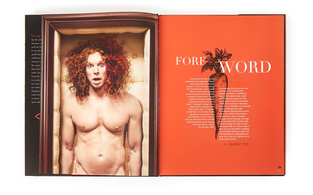 """Photographer Stewart Cohen Releases New Monograph, """"Seeing Red""""."""