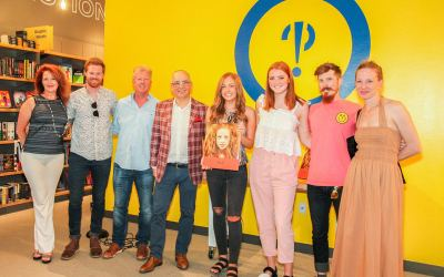 """Redheads Unite – Thank you for the amazing """"Seeing Red"""" book signing turn out!"""
