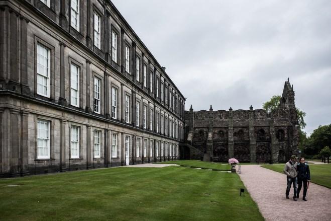 Holyroodhouse a opátstvo