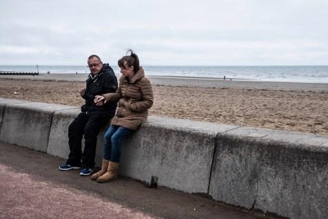 Promenáda pri pláži