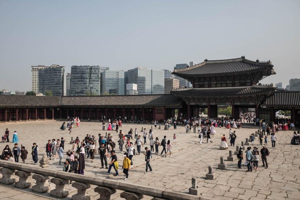 Hlavný kráľovský palác Gyeongbokgung