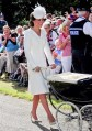51790447 Prince William, Duke of Cambridge, Prince George of Cambridge, Catherine Duchess of Cambridge arrive at the Church of St Magdalene on the Queen's Sandringham Estate for the Christening of Princess Charlotte of Cambridge on July 05, 2015 in London, United Kingdom. FameFlynet, Inc - Beverly Hills, CA, USA - +1 (818) 307-4813 RESTRICTIONS APPLY: USA ONLY
